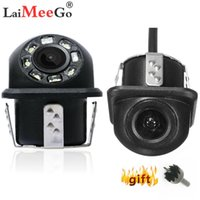 Nuovo HD di visione notturna macchina fotografica di retrovisione 170 ° Monitor universale grandangolare parcheggio di inverso della macchina fotografica di sostegno impermeabile del CCD LED Auto
