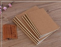 Взрывоопасный новый продукт Горячие Продажи A5 Kraft Paper Cover Cover Ноутбука Точка Матрица Сетка Катушка Школьная Офис Бизнес Дневник Ноутбук Офис