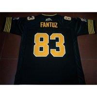 Benutzerdefinierte 123 Jugendfrauen Vintage Hamilton Tiger-Katzen # 83 Andy Fantuz Football Jersey Größe S-4XL oder benutzerdefinierte Neiner Name oder Nummer Jersey
