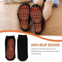 Calcetines de trampolín Calcetines antideslizantes Calcetines de yoga delgados Medias elásticas para niños Deportes de yoga Suministros para niños1