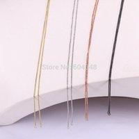 Correntes 20 pcs Zyunz Slide colar de jóias fazendo metal cadeia apto pingente encantos acessórios