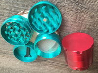 Cheap Best mini 40mm 4part CNC Metal Grinder red green black Herbal Tobacco grinder for smoking herb grinder