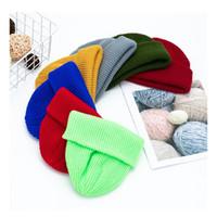 Femmes chapeaux chapeaux thermaux skullcap automne hiver chaud hommes chapeau chapeau unisexe hiver rétro de laine de mode de mode sans bride vt1808