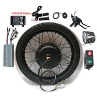 전기 자전거 변환 키트 60V 72V 1500W 3000W 5000W 8000W 18-29inch 700C 자전거 EBike 후면 자동차 휠