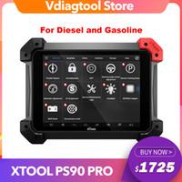 XTool PS90 Pro Ferramenta de diagnóstico pesado para carro / caminhão / diesel / gasolina OBD2 Programador chave odômetro ajuste bom que x431