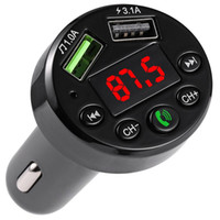 E6 Coche Bluetooth MP3 Bluetooth MP3 Player Cargador de coche FM cargador