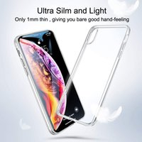 Lens Protection Clear Phone Case For iPhone 12 Mini Case Silicone Soft Cover For iPhone 11 Pro XS Max X 8 7 6s Plus SE 2020 Case