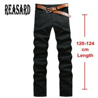 Tall Man 120cm Extra Long Jeans Mens Plus Size 28- 44 Black S...