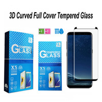 حالة ودية الزجاج المقسى 3D منحني حامي الشاشة لسامسونج غالاكسي Note9 8 S7 حافة S8 S9 S10 S20 زائد S10 E Note 10 غطاء كامل زجاج