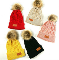 2020 Herbst-Winter-Kinder Strickmütze Beanie Newborn Warm Häkeln Hüte Mode Kinder Jungen und Mädchen-beiläufige im Freien Spielraum Schädel-Kappe E101002