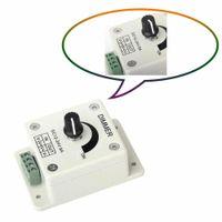 12V - 24V 8A Controlador de brillo del interruptor de Dimmer Blanco Guardar para la decoración del hogar Luz de tira LED