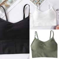7pxdo Mode Mode Dame Candy Farbe Süße Weste Dres Sexy Fitness Sommer Tank Kein Stahl Ring Tops Wickelige Brust Sport Tops Damenweste