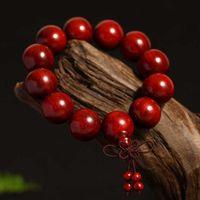 Strands Boîtes Bouddha Prière Bouddhiste Perles Perles 108 Bracelet Afrique Bracelet Mala Bracelet Bracelet Ornement Cadeau de bijoux pour le père