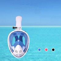 Tek Tüp Solunum Tam Kuru Dalış Maskesi Yetişkin Çocuk Sualtı Şnorkel Suit Maskesi