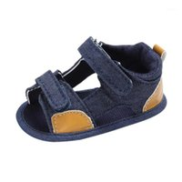 TELOTUNY 2018 Summer Baby Boys shoes Toddler Canvas Infant K...