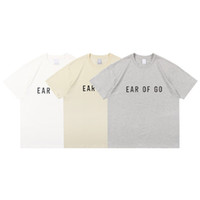 21SS Primavera Estate Europa America FG Graffiti Collaboration 3D Silicon Tshirt Moda uomo Donne T Shirt Casual Cotton Tee