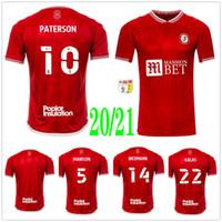 2020 2021 Бристоль Вейманн Сити Футбол Джетки Mawson Martin Diedhiou Paterson Wells Massengo Kalas Dasilva Пользовательские дома Красные футболки