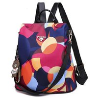 Coreano 2020 nuova moda multifunzionale oxford zaino panno grande capacità sacchetto pieghevole borsa all'aperto zaino semplice borsa da donna