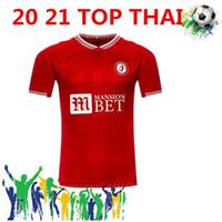 Бесплатная доставка 2020 2021 Bristol City Футбол Джерси Размер S-XXL 20 21 Бристоль Сити Футбол Футбольная футболка Футболка Silva Ameobi