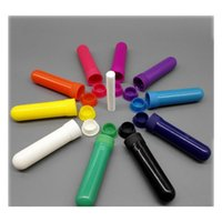 100 ensembles d'huile essentielle couleur aromathérapie vierge Nasal Inhalateur Tubes Diffuseur avec haute qualité JLLKSH SPORT77777