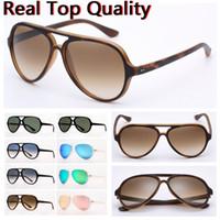 Designer-Sonnenbrillen Herrenmode Sonnenbrillen cat5000 Sonnenbrille Nylonrahmen g15 Linsen Katze Design mit Ledertasche und Einzelhandel Pakete!