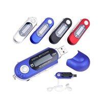 Taşınabilir Mini USB Flash LCD Dijital MP3 Çalar Destek Flaş 32GB TF Kart Yuvası Müzik Çalar FM Radyo