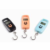 Mini Échelle numérique Portable Échelle électronique Steelyard Poids Balance Suit Sac de voyage Suspending Hook Pocket Scale VT1922