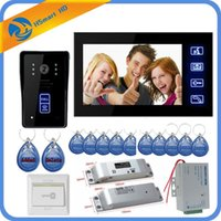 New 7inch Monitor video door phone intercom system+ NC Electr...