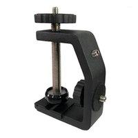 Lega universale in alluminio C-tipo 1/4 di pollice Desktop Morsetto per morsetto per clip per fotocamera Treppiede Ball Head1