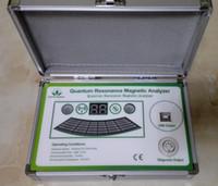 CE aprobado CUTUM RESONANCIA MAGNÉTICA MAGNÉTICO Cuerpo completo Prueba de salud Massager Analyzer Analysis Análisis de la última generación Mini tamaño GreenWorld Box 53