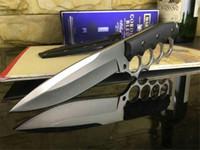 Новый стиль фиксированный костястый нож 440C атласный клинок многофункциональный кемпинг инструмент портативный спасатель самообороны кольца ножи наружная ходьба