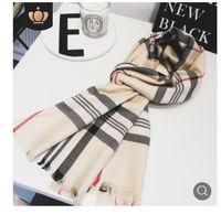 Con regalo bag ricevuta tag Sciarpe di alta qualità per le donne inverno mens sciarpa luxe pashmina calda moda imitare lana cashmere sciarpe 2020