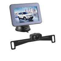 """Cámaras de vista trasera Accesorios Accesorios retrovisor espejo HD Magnetic Stand 5 """"Digital Wireless AHD Pantalla Sensor de estacionamiento DW501"""