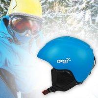 Skihelme Skating Outdoor Winter Integral geformter Helm Safe Winddicht Männer Frauen Geschenk Ultraleichte Warmschutz Einstellbare Mode