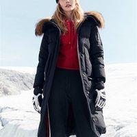 Bosideng Harsh inverno jaqueta mulheres ganso para baixo casaco grande pele natural absorvente impermeável impermeável engrossar longo parka b80142154 201225