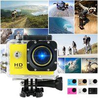 "5pcs SJ4000 480P 30FPS Caméra d'action Full HD Allwinner 4K WiFi 2.0 ""Écran Mini casque 30M Sports imperméable Sports DV Caméra XU-SJ4"