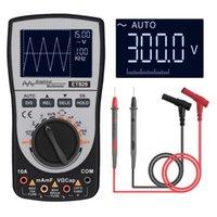 디지털 오실로스코프 파형 발생기 멀티 테스터 4000 수는 휴대용 LCD 디스플레이 자동차 시험 측정기 도구를 오실로스코프