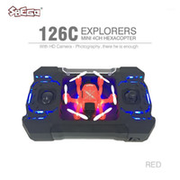 SBEGO 126C RC Mini 2MP 4CH 6 Axis Drones HD Camera Helicopte...