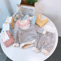 Children Pajamas Sets Baby Boys Girls Clothing Sweatshirt Wa...