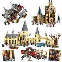 2020 New Magic Animals Castle Harried Building Blocks Brick Potter Desenhos Animados Ação Figura Brinquedos Jogo Modelo Anime Presente Para Crianças C1115