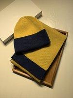KJH Golf curvado viseira chapéus barato clássico lattice alta qualidade chapéu lenço conjunto para homens e mulheres inverno lã lenço design xaile chapéu lã beanie