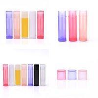 Mini Boş Dudak Parlatıcısı Konteyner Plastik DIY Çok Renkli Temizle Lipgloss Ruj Tüp Dudaklar Balmumu Boru Organizatör 0 24ZM L2