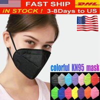 24 Hours Ship!Fashion Colorful Face Mask Filter Masks Reusable 6Layer Protective Designer Face Covering Adult Black Mascherina wholesale DHL