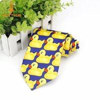 새로운 핫 패션 2020 브랜드 뉴 바니의 당신의 어머니의 어머니 오리 넥타이 노란색 고무 오리 넥타이 넥타이 바니 ducky1