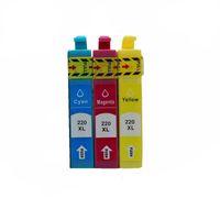 Cartucce d'inchiostro T220XL T220 T2201 Cartuccia compatibile per XP320 XP420 WF2630 WF2650 WF2660 Stampante a getto d'inchiostro WF2660