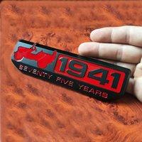 1 قطع 3d المعادن 1941 شارة درب صمم شعار صائق ملصقات السيارات ل رانجلر شيروكي رينيجادي اكسسوارات السيارات التصميم سيارة