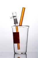 Günstige Mini-Wasser-Rohr-Tasse klares in-n-out-Glas-Bongs-Öl-Rig-Cheech-Glas-Mini-Cup freies Verschiffen