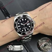 20 Color hombre reloj 41mm dial negro. Reloj automático de acero inoxidable 2813.Silver brazalete de cerámica relojes impermeable a prueba de agua