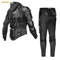 Wosawe motocicleta jaqueta homens corpo inteiro armadura armadura protetora motocross motocross moto moto motorbike joelho protetor1