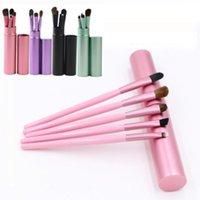 Mini-oeil maquillage brosse pro multi-utilisations colorées fard à paupières de paupière maquillage puits pinceau outil portable outils cosmétiques
